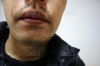口ヒゲの写真・画像素材[3036920]