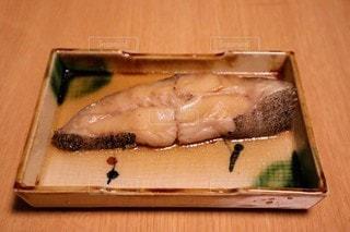 魚の煮付けのクローズアップの写真・画像素材[3330091]