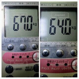 3キロの減量に成功の写真・画像素材[4149196]