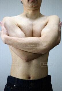肉体改造の成果の写真・画像素材[4368152]
