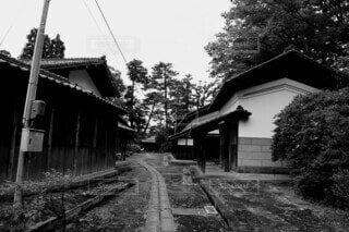 日本のレトロな風景の写真・画像素材[4795340]