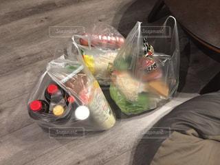 今週の食料品の写真・画像素材[2597270]