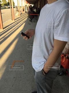喫煙の写真・画像素材[2598165]