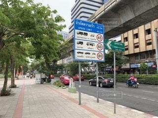 タイバンコクの道の写真・画像素材[2598527]