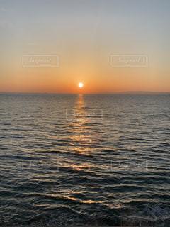 淡路島の日の出の写真・画像素材[2598503]