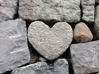 ハート岩の写真・画像素材[2625730]