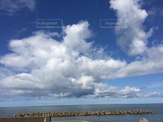 新潟からの景色の写真・画像素材[2649940]