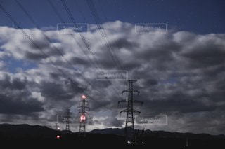 曇り空の写真・画像素材[2603392]