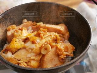 手作りてりたま丼の写真・画像素材[3071431]