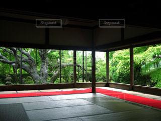 京都 宝泉寺 庭 縁側の写真・画像素材[2615068]