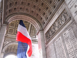 フランス パリ 凱旋門の写真・画像素材[2615153]