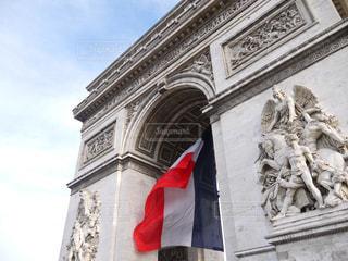 フランス パリ 凱旋門の写真・画像素材[2615160]