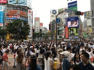 渋谷の写真・画像素材[101096]