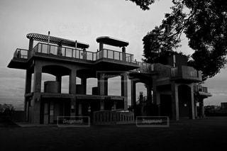 家のビューの写真・画像素材[980379]