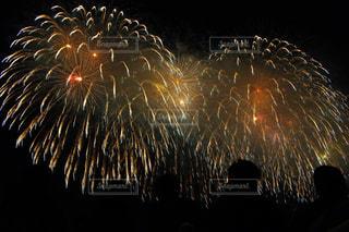 夜空の花火の写真・画像素材[1026446]