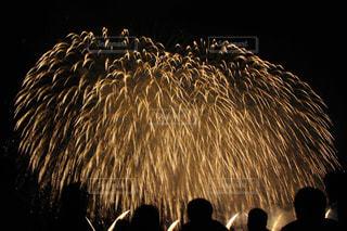 空に花火の写真・画像素材[1045976]