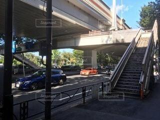 歩道橋の写真・画像素材[3702766]