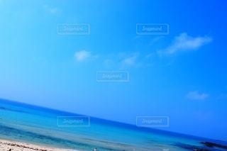 空と海一体化の写真・画像素材[2616358]