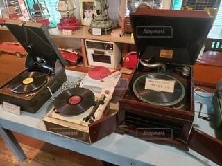 レコード盤の写真・画像素材[2614934]