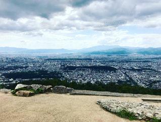 大文字山からの京都市街の写真・画像素材[2615367]