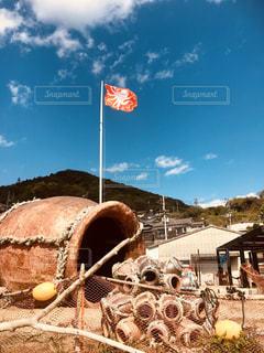 男木島の蛸壺の写真・画像素材[2616571]