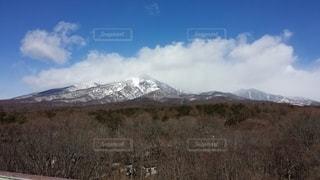 雪化粧の八ヶ岳の写真・画像素材[2626630]