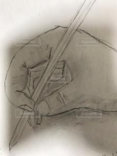 鉛筆画の写真・画像素材[2623639]