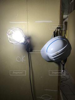 工事現場ヘルメットの写真・画像素材[2653683]