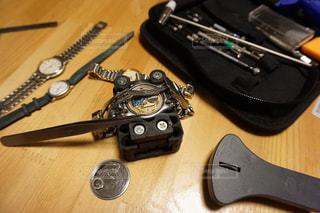 時計電池交換の写真・画像素材[2660593]
