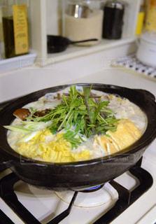 あったか豆乳鍋の写真・画像素材[283922]