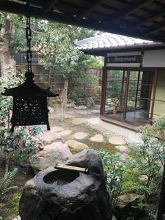 静寂の庭園の写真・画像素材[2623803]