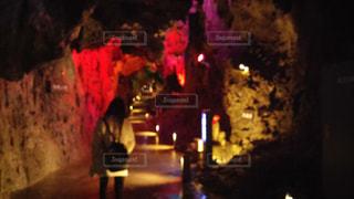 龍泉洞に行った時の写真。の写真・画像素材[2625509]