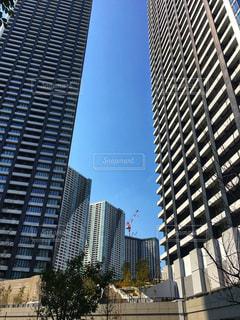 都市のマンション群の写真・画像素材[2972454]