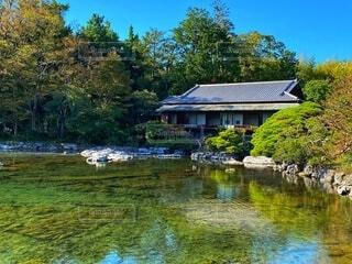 日本庭園 楽寿園の写真・画像素材[3826476]