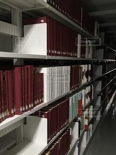 図書館のクローズアップの写真・画像素材[2735936]