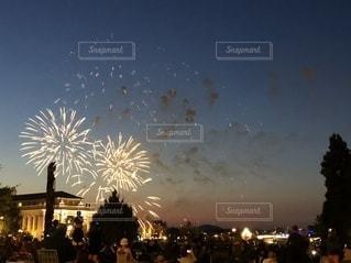 30秒の花火の写真・画像素材[2630012]