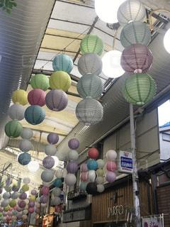 ランタン商店街の写真・画像素材[2631265]