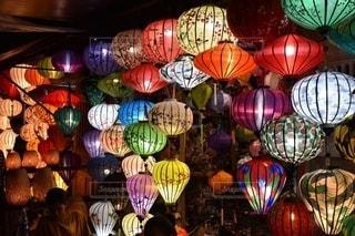 ベトナムのランタンの写真・画像素材[2630776]