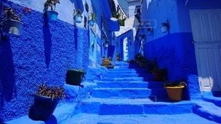 モロッコ・シェフシャウエンの写真・画像素材[2655047]