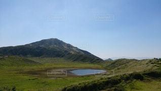 熊本県・阿蘇草千里の写真・画像素材[2704389]