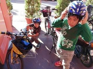 サイクリングの写真・画像素材[2728983]