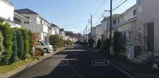 道路が整備された住宅街の写真・画像素材[2738108]
