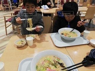 長崎ちゃんぽんを食べるの写真・画像素材[2785472]