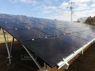 太陽光発電の写真・画像素材[2840733]