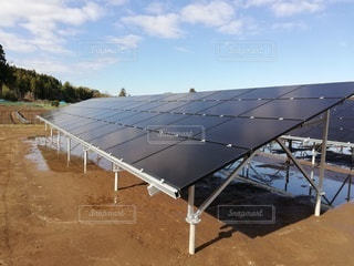 太陽光発電の写真・画像素材[2840732]