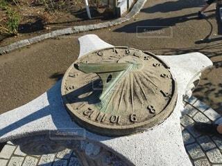 日時計の写真・画像素材[3820179]