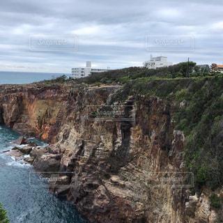 崖の写真・画像素材[2642460]