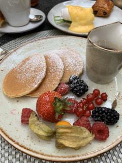 ホテルの朝食の写真・画像素材[2914429]