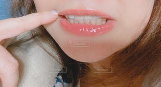 にーっ歯並び🦷の写真・画像素材[2851721]
