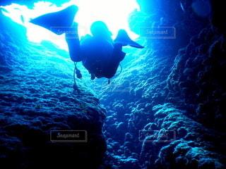 宮古島の洞窟の写真・画像素材[2645087]